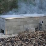 Building a Brick Smoker BBQ Pit