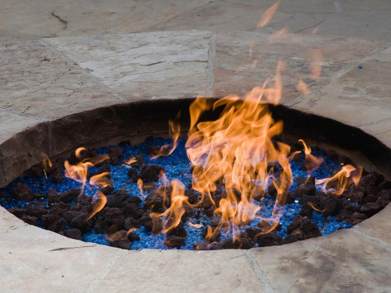 Building a Paver Patio with Fire Pit