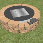 Building a Square Fire Pit