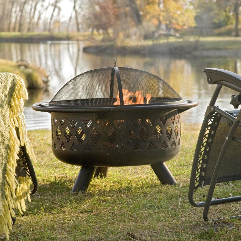 Ceramic Bowl Fire Pit