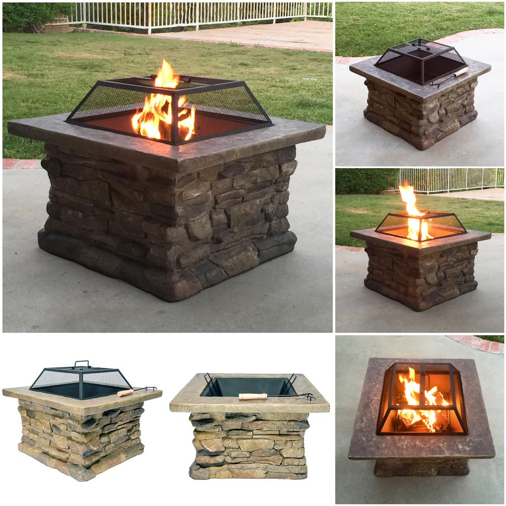 Ceramic Fire Pit Bowl