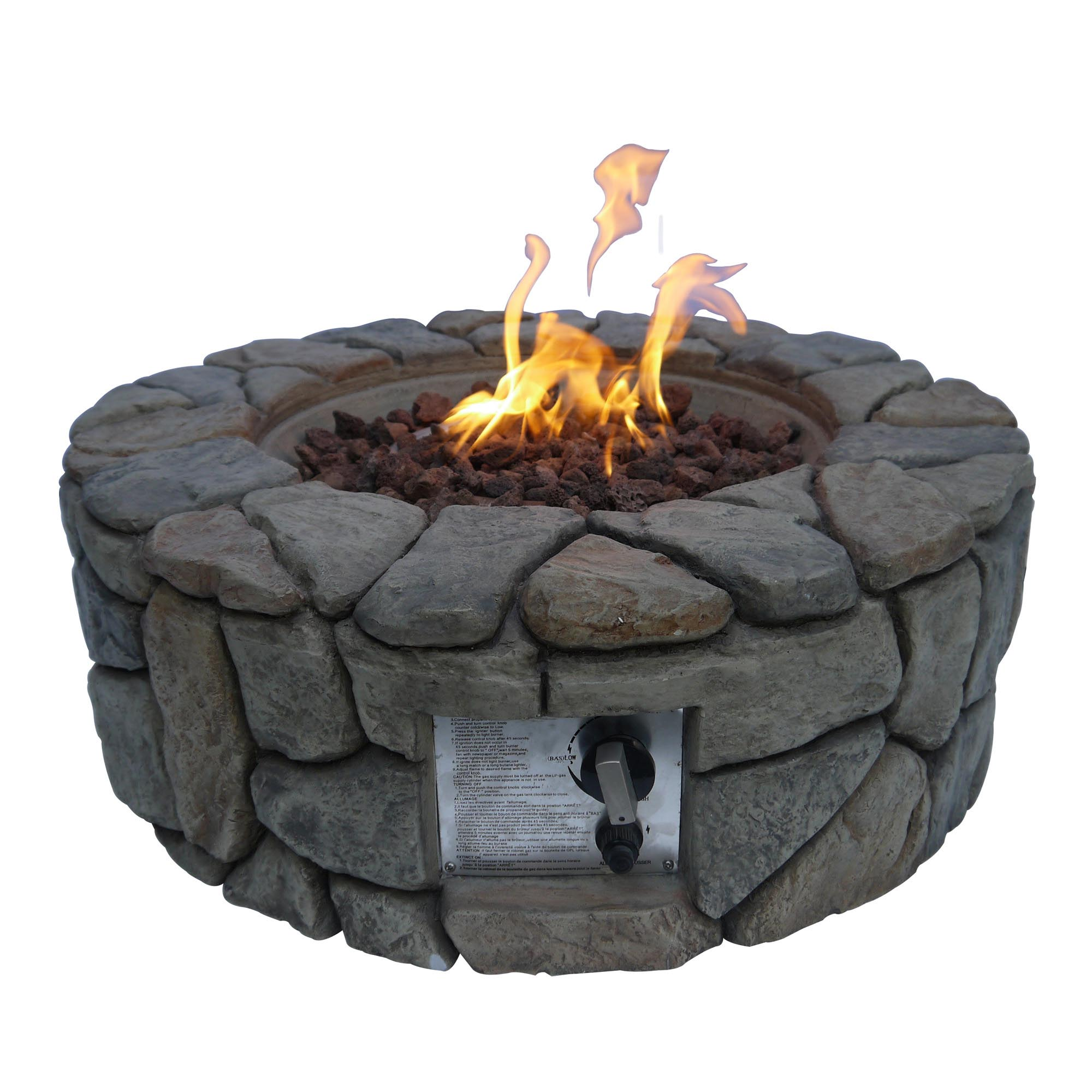 Ceramic Stones For Bbq : Ceramic fire pit stones design ideas