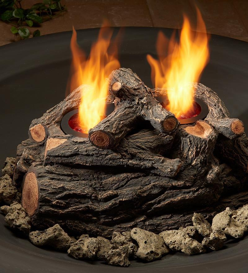 Ceramic Logs for Fire Pit