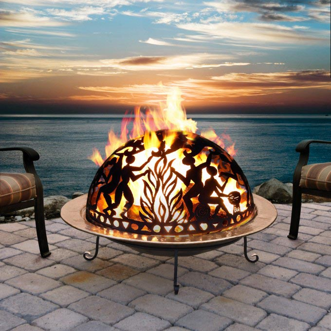 Ceramic Outdoor Fire Pit