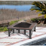 Ceramic Tile Fire Pit Table