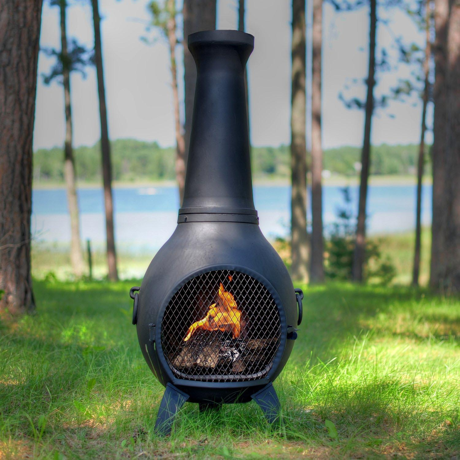 Chiminea Fire Pit Clay