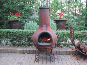 Chimney Fire Pit Clay