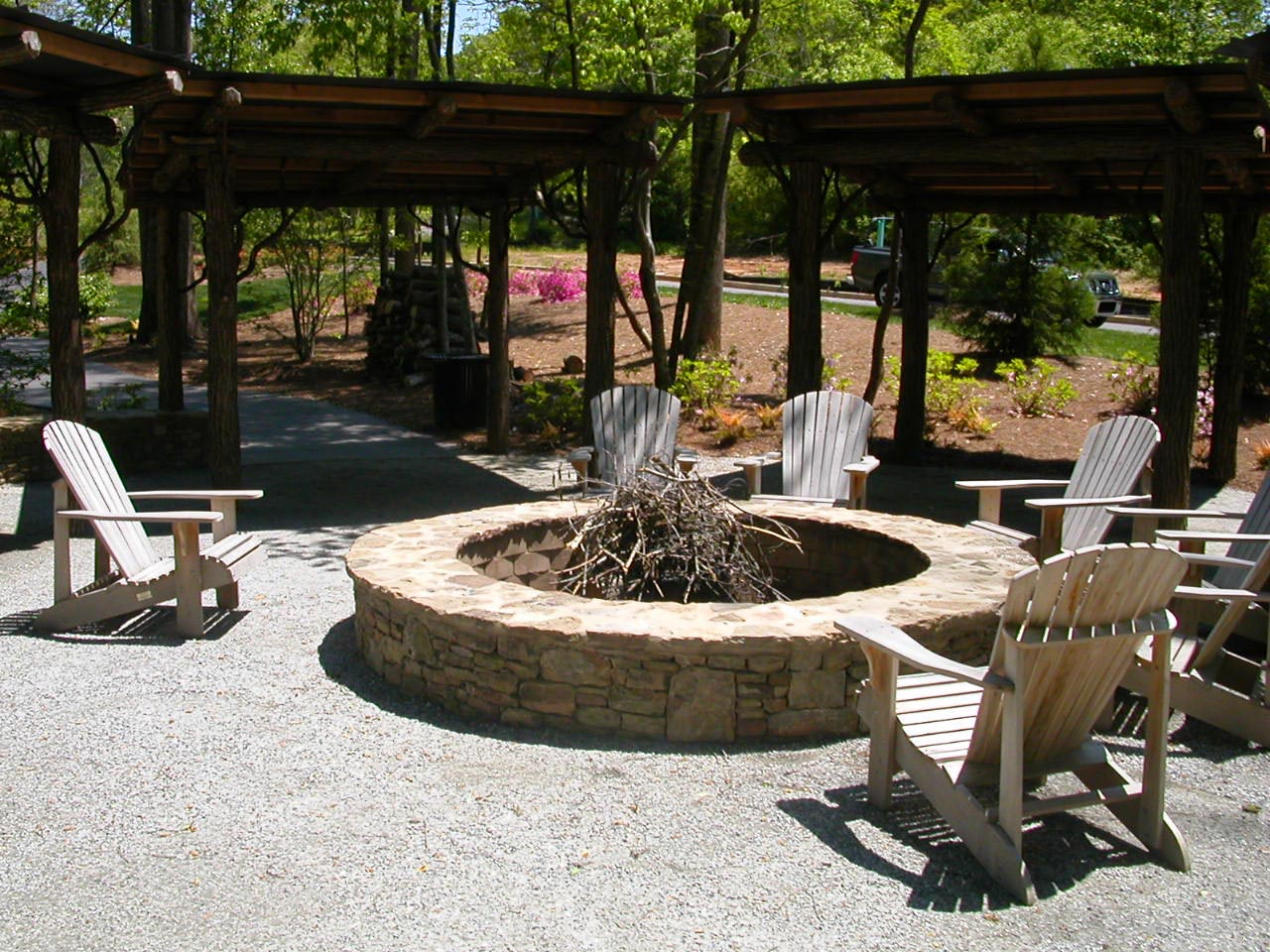 Cinder Block Fire Pit Safe Fire Pit Design Ideas