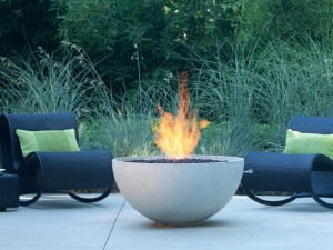 Clay Fire Pit Bowl