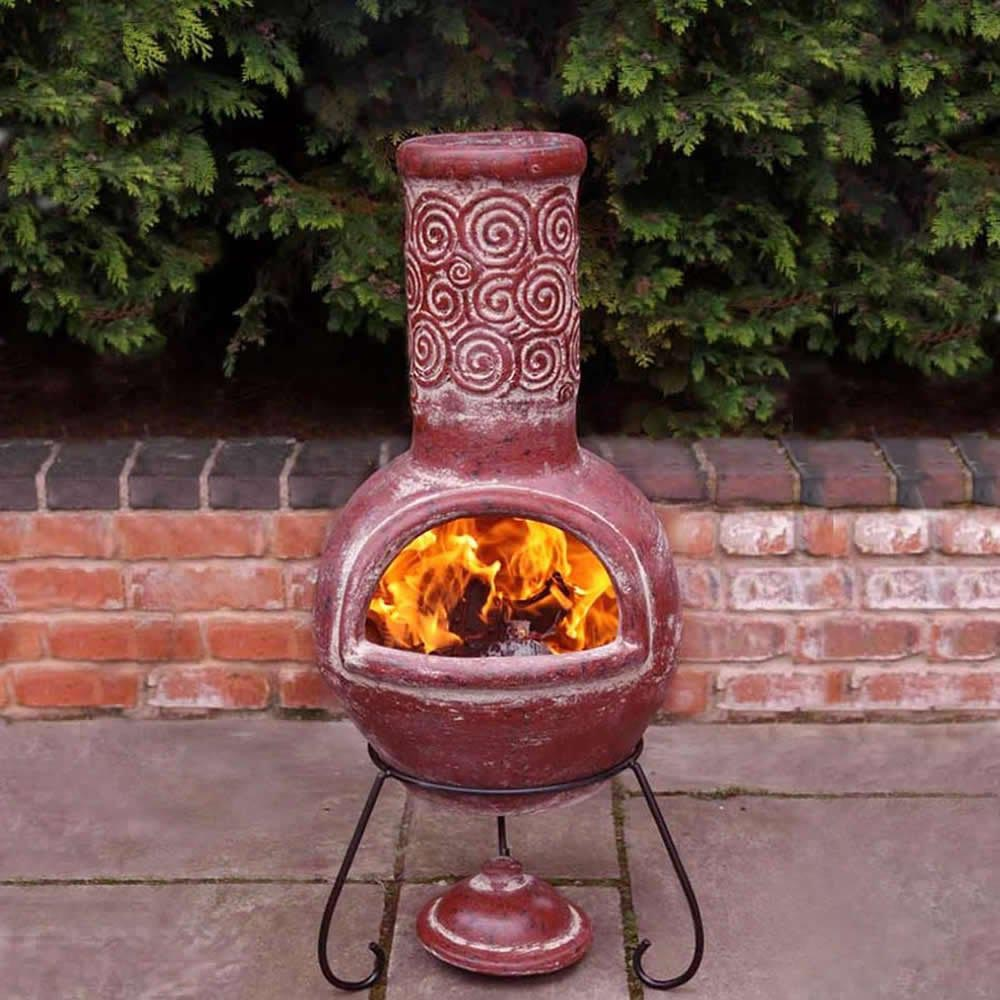 Clay Chimney Fire : Clay fire pit chimney design ideas