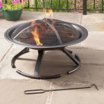 Clay Wood Burning Fire Pit
