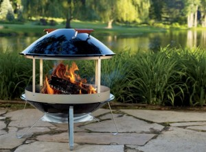 Coleman Fire Pit and Grill