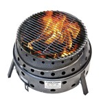 Coleman Fire Pit Grill Combo