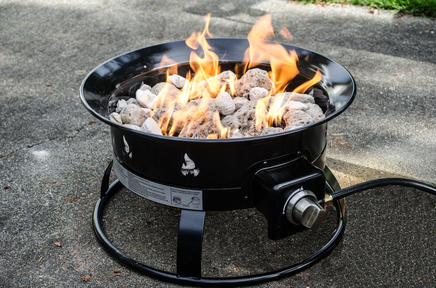 Best Portable Fire Pits : Arrange your elegant decoration with a coleman fire pit