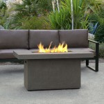 Coleman Propane Fire Pit Table