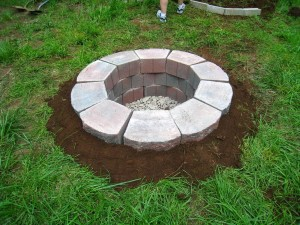Concrete Block Fire Pit Plans