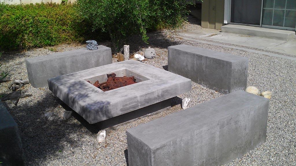 Concrete Fire Pit Plans