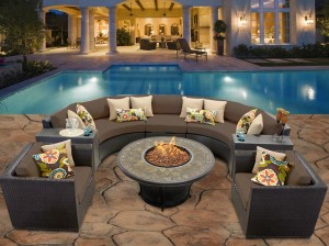 Cool Fire Pit Seating
