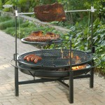 Cowboy Charcoal Grill and Fire Pit