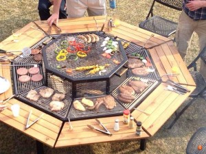 Cowboy Grill Fire Pit