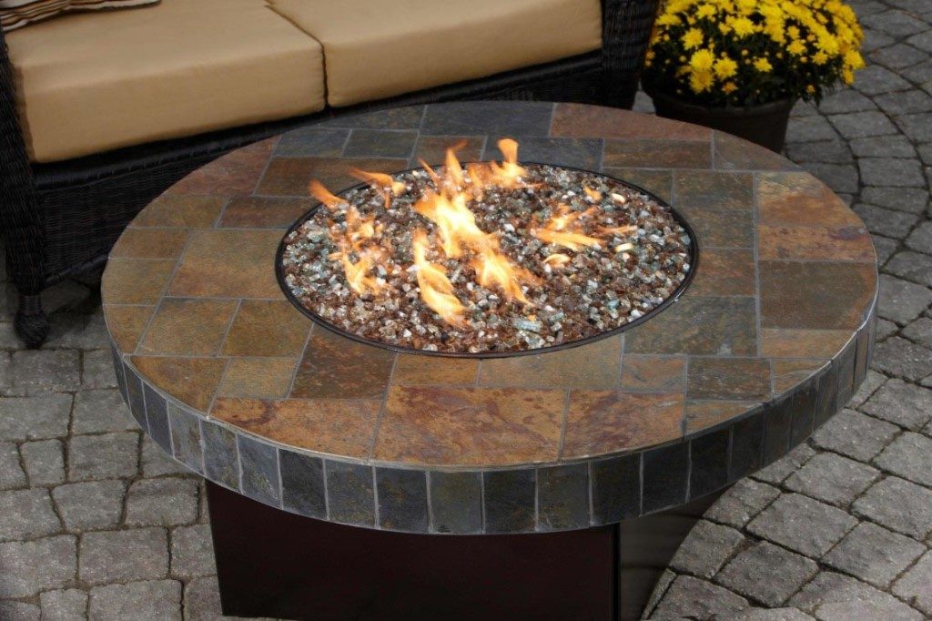 Curved Pavers for Fire Pit