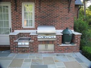Custom Brick BBQ Grills