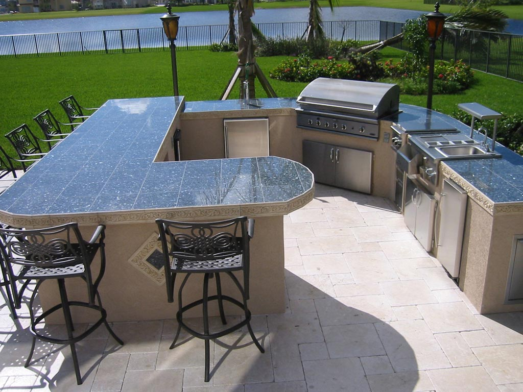 Bbq Grill Design Ideas 20 outdoor kitchens and grilling stations hgtv Custom Brick Bbq Pits