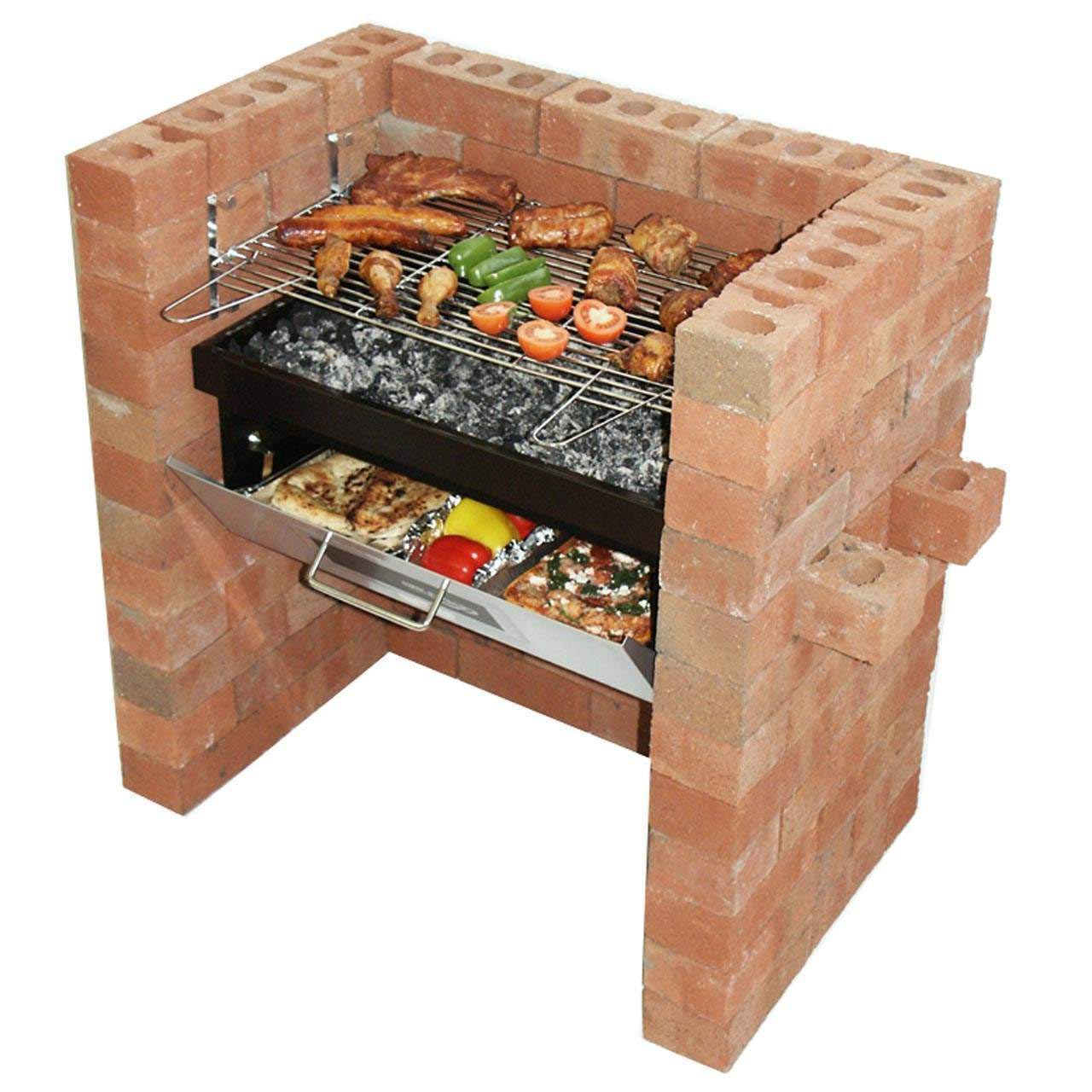 DIY Brick BBQ Grill Kit
