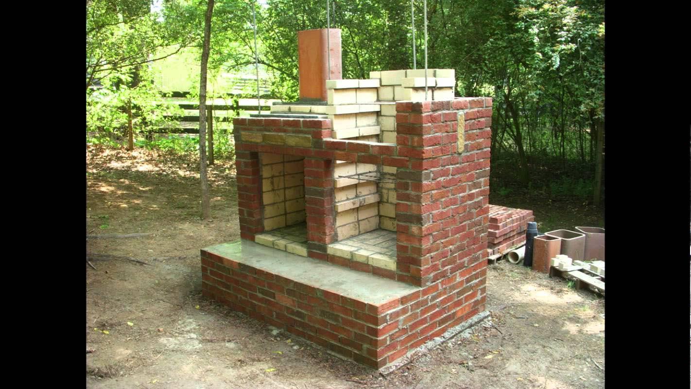 DIY Brick BBQ Pit