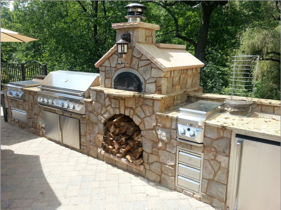 how to build a brick bbq smoker fire pit design ideas