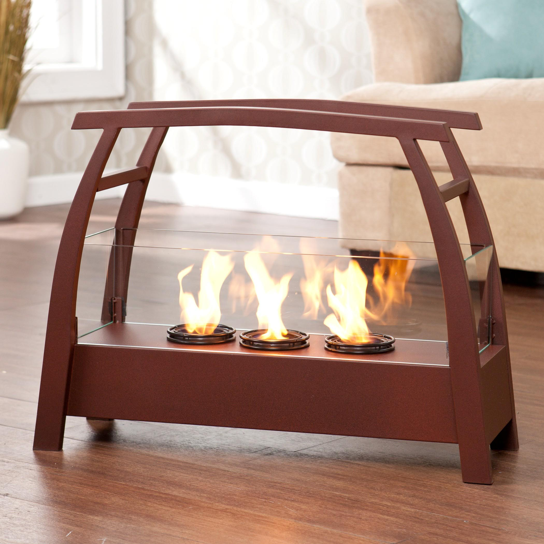 Indoor Coffee Table With Fire Pit