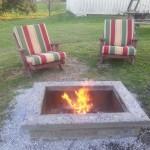 DIY Square Fire Pit