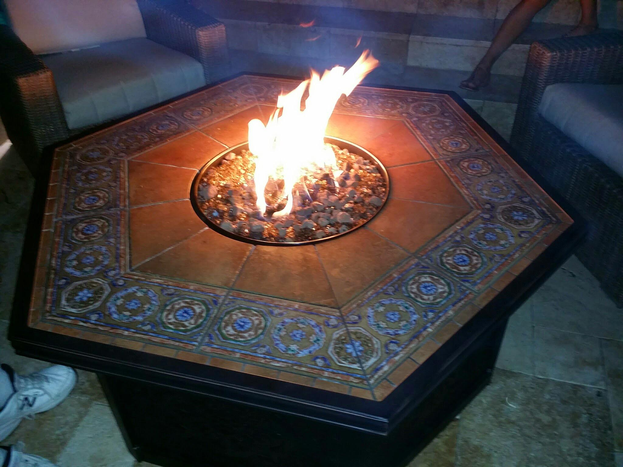 DIY Wine Barrel Fire Pit