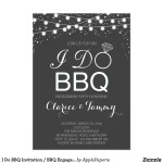 Engagement Party BBQ Invitations