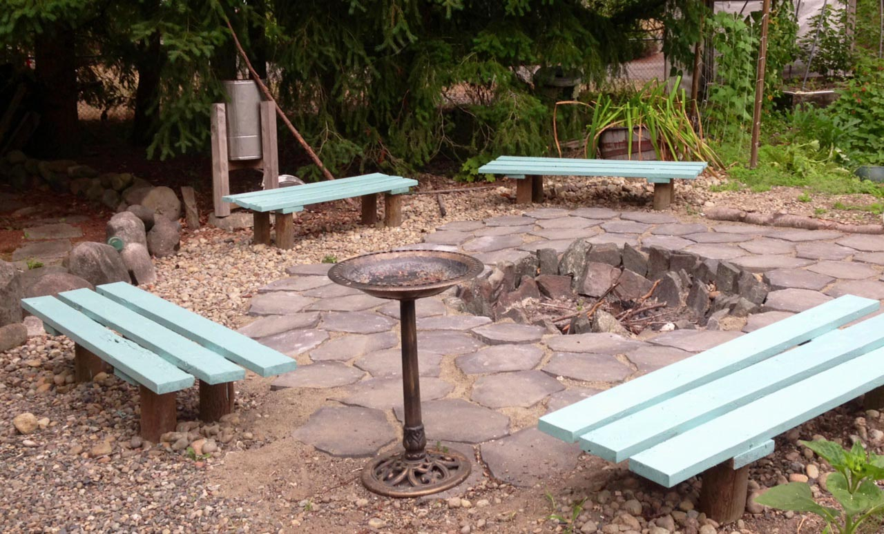 Fire Pit Benches Plans Design Ideas