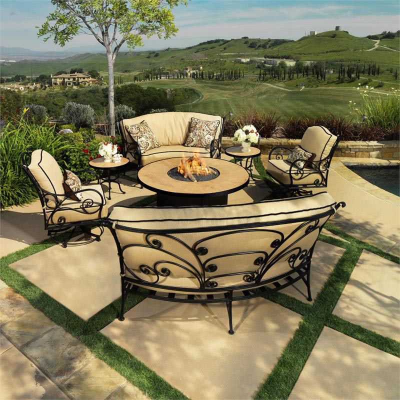 Fire Pit Chair Set Fire Pit Design Ideas