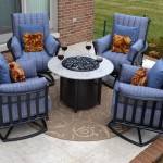 Fire Pit Chairs Set