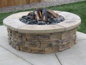 Fire Pit Concrete Blocks