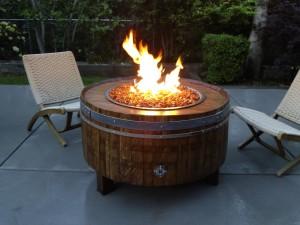 Fire Pit Deck Pad