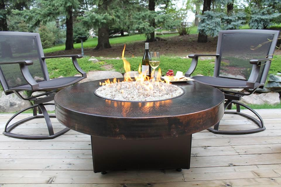 Fire Pit Dining Table And Chairs Design Ideas