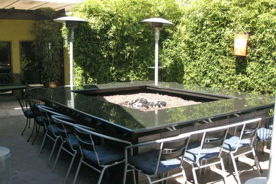 Fire Pit Grate Square Design Ideas