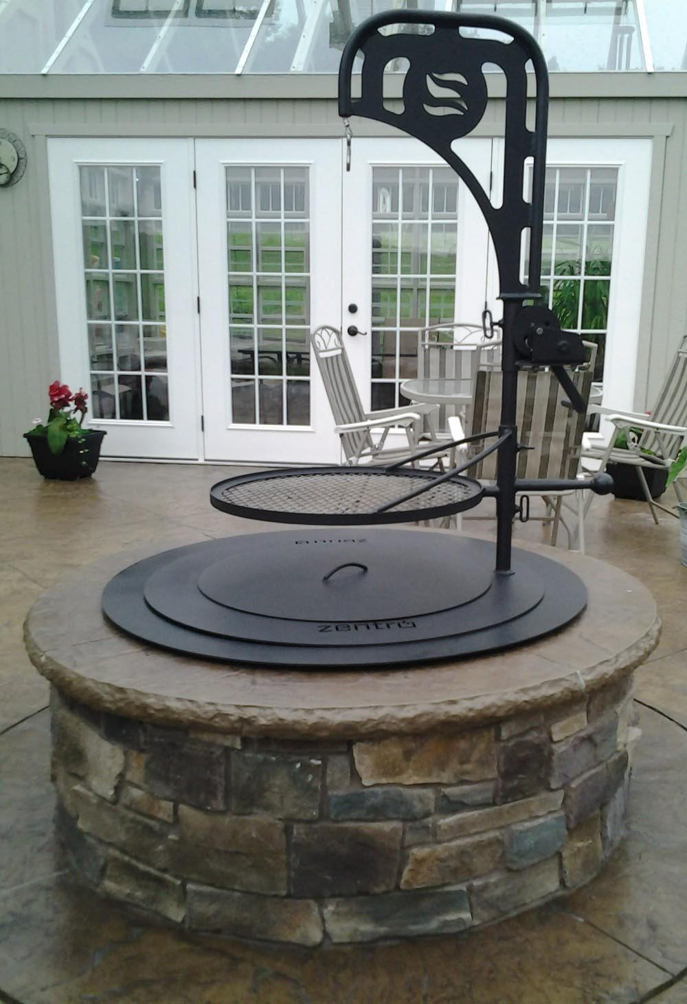 Fire Pit Grill Accessories | Fire Pit Design Ideas