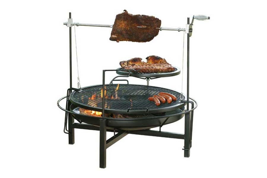 Fire Pit Grill Combo