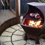 Fire Pit Grill Grate Square