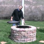 Fire Pit Grill Insert