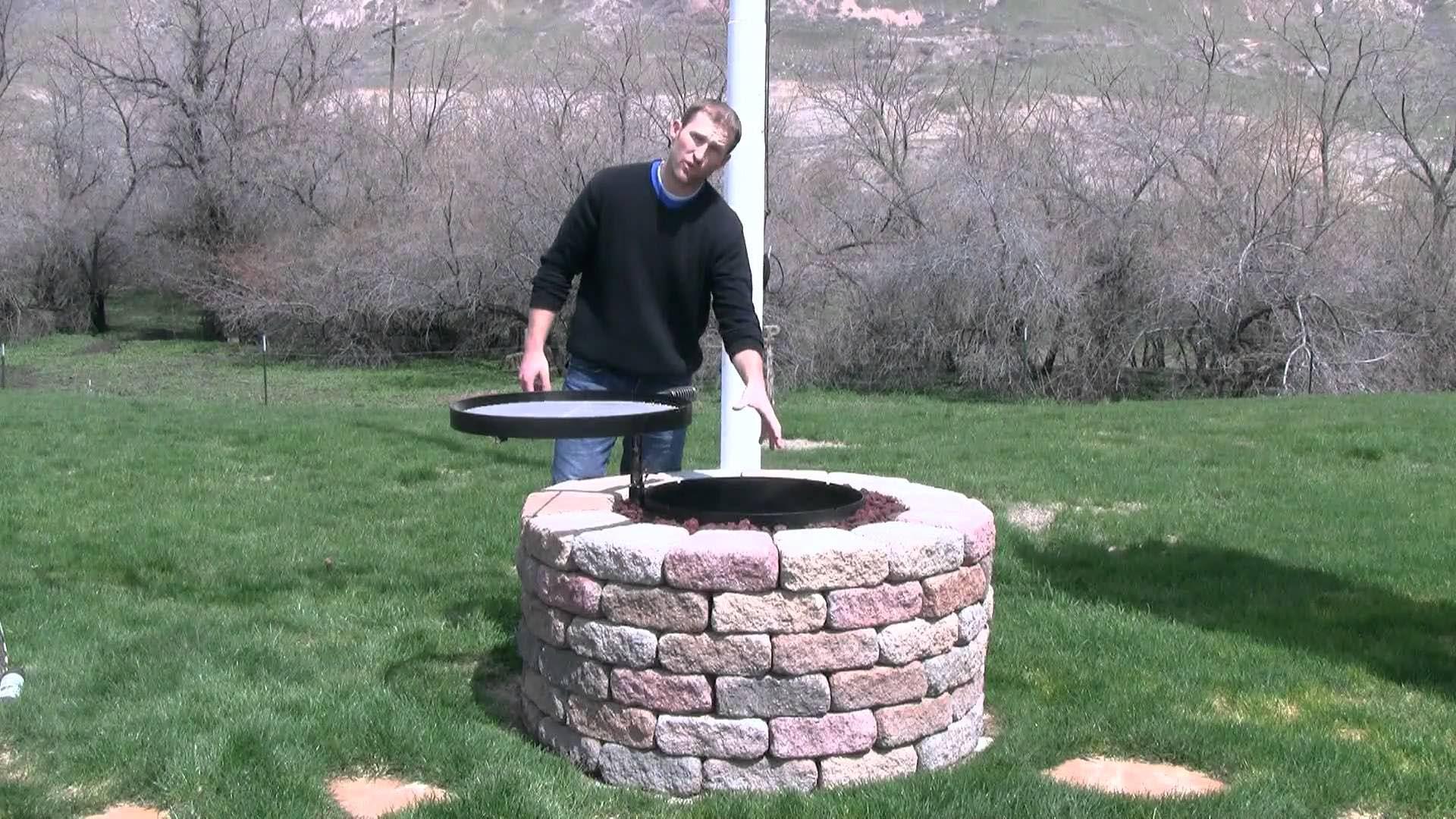 Fire Pit Grill Insert Fire Pit Design Ideas