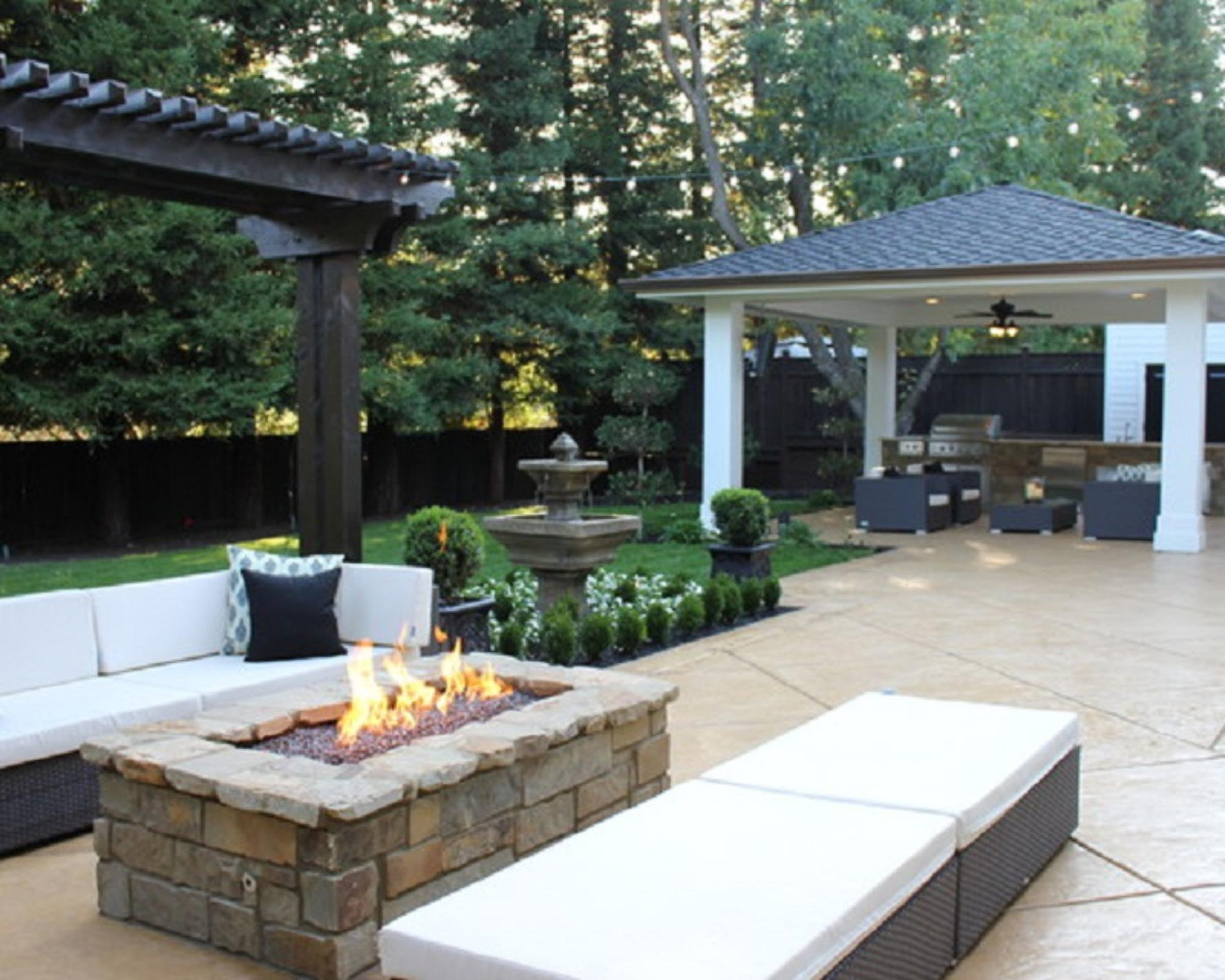 Modern fire pit in your garden fire pit design ideas for Modern fire pit ideas