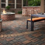 Fire Pit on Top of Pavers