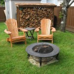 Fire Pit Pad for Grass
