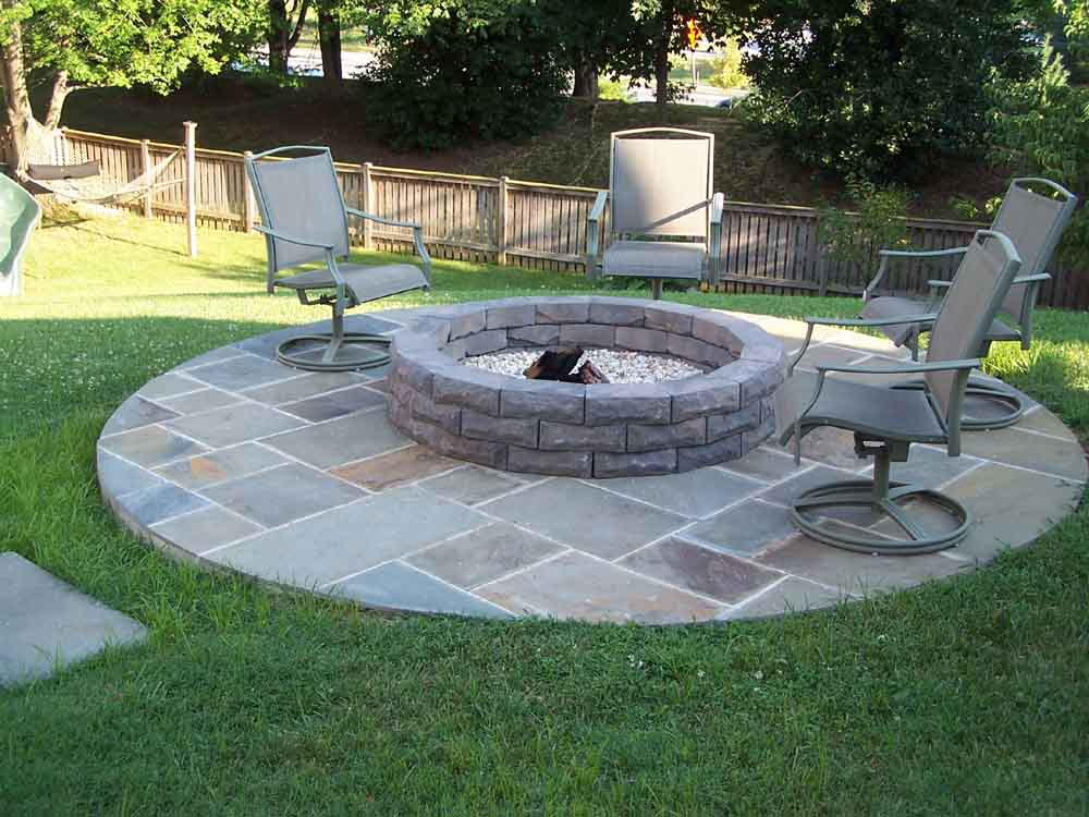 Fire pit plans stone fire pit design ideas for Best fire pit design